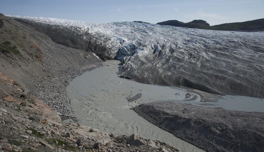 Leverett glacier portal - the study site.